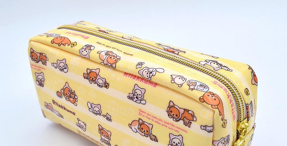 Rilakkuma Cute Kitty Pencil Case Yellow