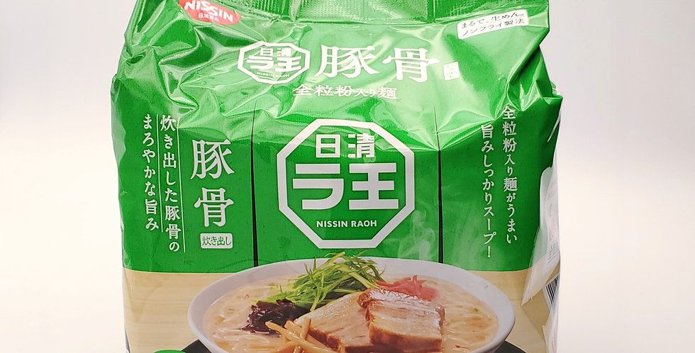 NISSIN Tonkotsu BBQ Noodle