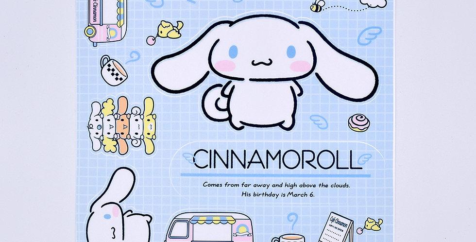 Cinnamorol Sticker Sheet Large
