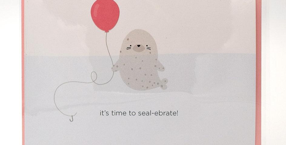 Halifax Paper Hearts Card - Seal