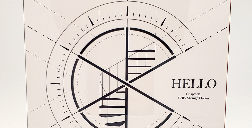 CIX 4th EP Album - Hello Chapter Ø. Hello, Strange Dream (Hello ver.)