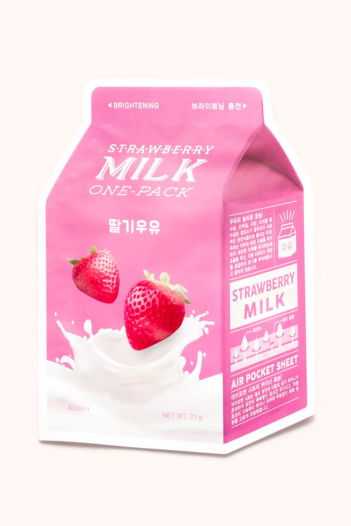 Strawberry Milk One Pack Mask