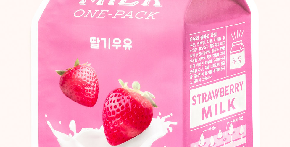 A'PIEU Strawberry Milk One Pack Mask