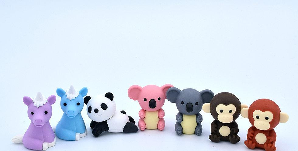 Iwako Animal Erasers