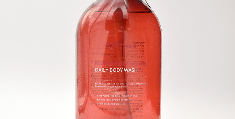 Rose Moisturizing Daily Body Wash 300m