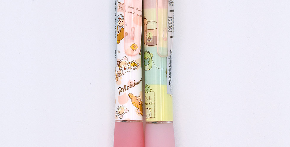 Rilakkuma cat and Sumikkogurashi character Pink Pen