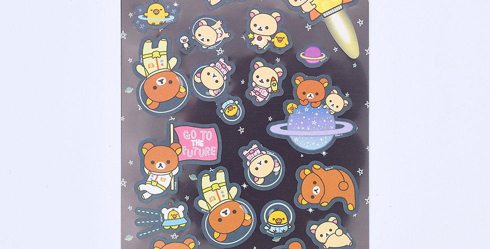 Rilakkuma In Space Sticker Sheet