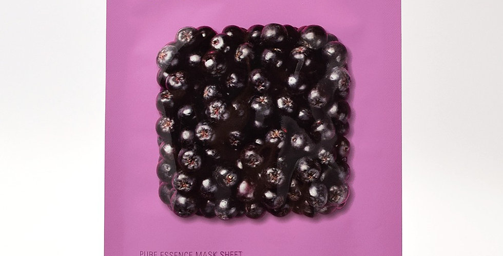 HOLIKA HOLIKA Pure Essence Sheet Mask - Acai Berry