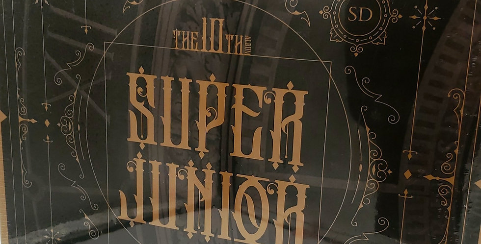 SUPER JUNIOR Vol 10 Renaissance Shindong