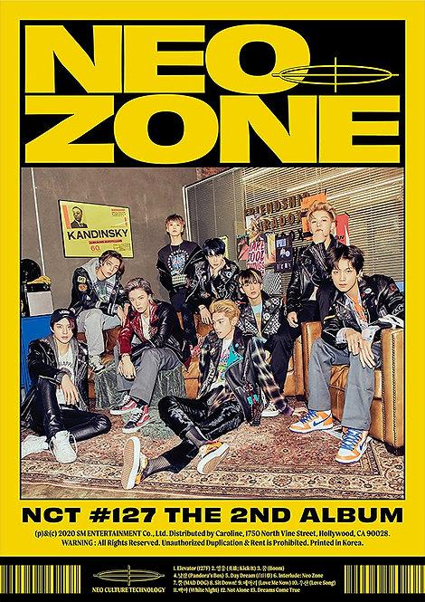 NCT 127 Neo Zone The Second Album