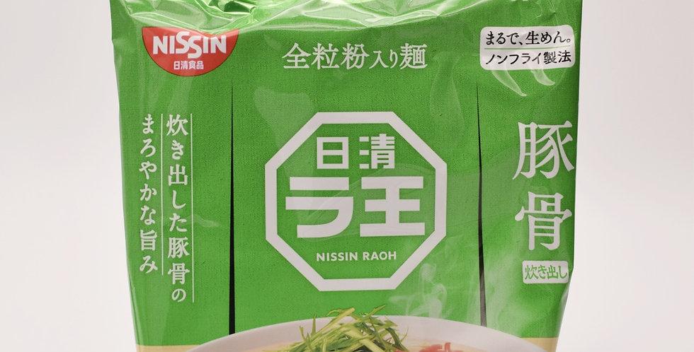 NISSIN Tonkotsu Instant bbq Noodle