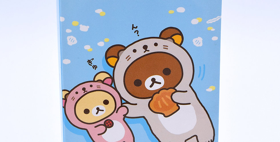 Rilakkuma Otter Sticky Note Pack