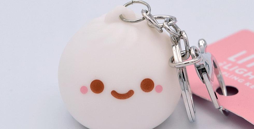 Dumpling Light Up Keychain