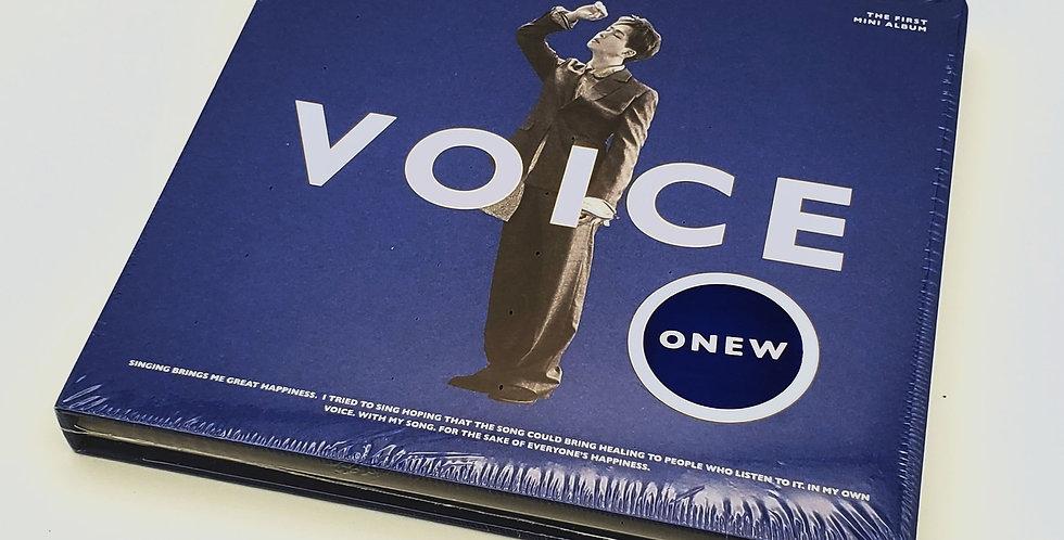 Onew, Voice