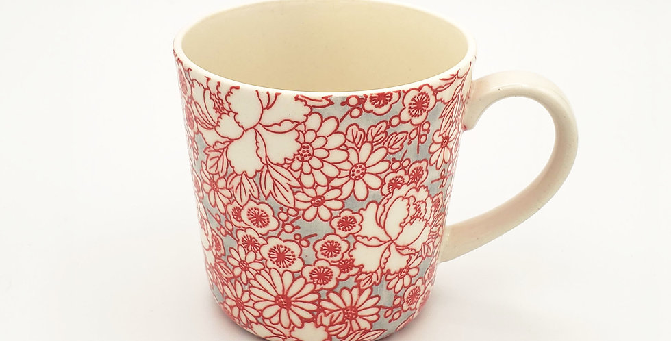 Hana Mod Flower Mugs
