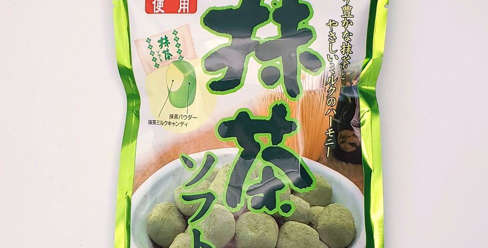 Green tea soft candy