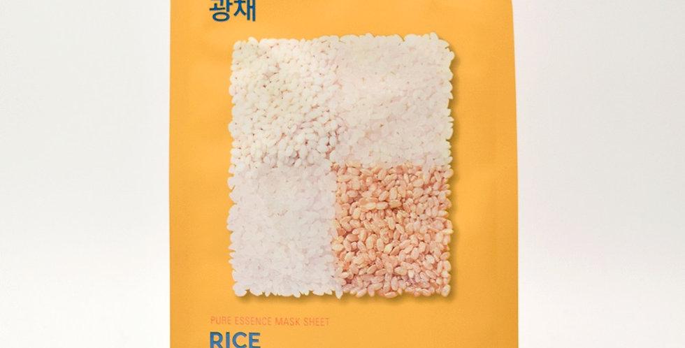 HOLIKA HOLIKA Pure Essence Sheet Mask - Rice