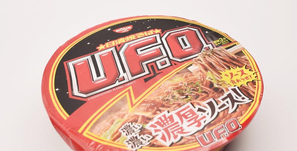 NISSIN UFO Yakisoba bowl