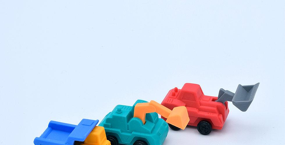 Iwako Car Eraser - Variety