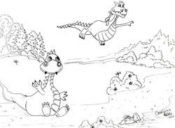 Coucou les dragons!