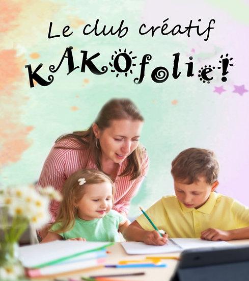 Le club créatif KAKOfolie!