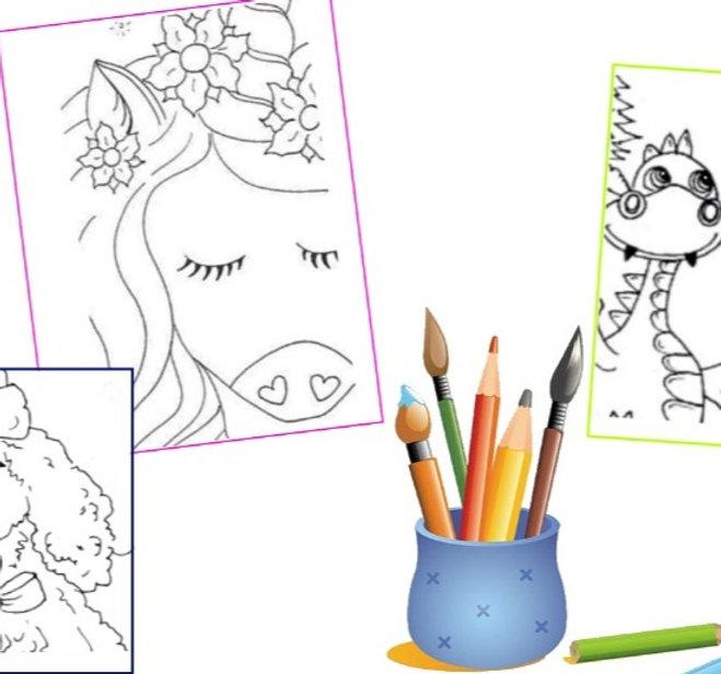 10 dessins à colorier