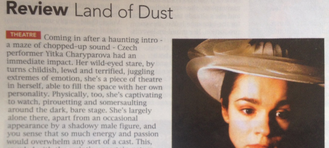 Naked Theatre Review land Of Dust