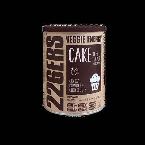VEGGIE ENERGY CAKE – Teff flour + Choco bits 480g