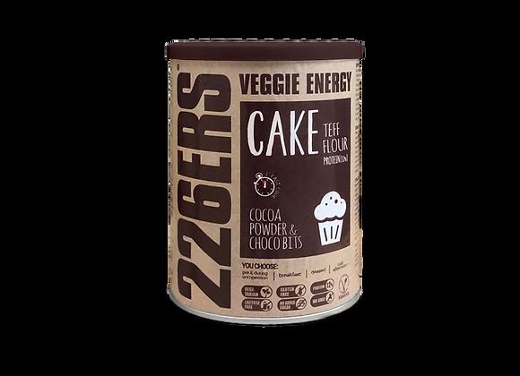 VEGGIE ENERGY CAKE – Cocoa Powder + Choco bits 480g