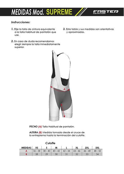 UCM All Black Bib-shorts