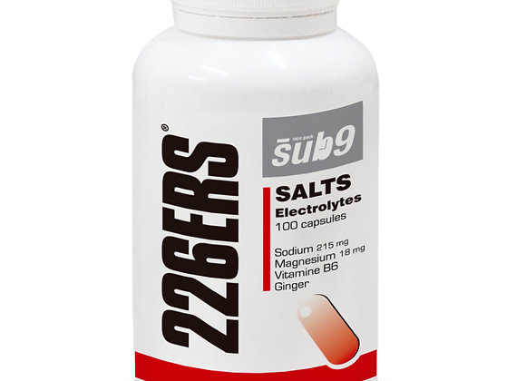 Sub-9 Salts Electrolytes