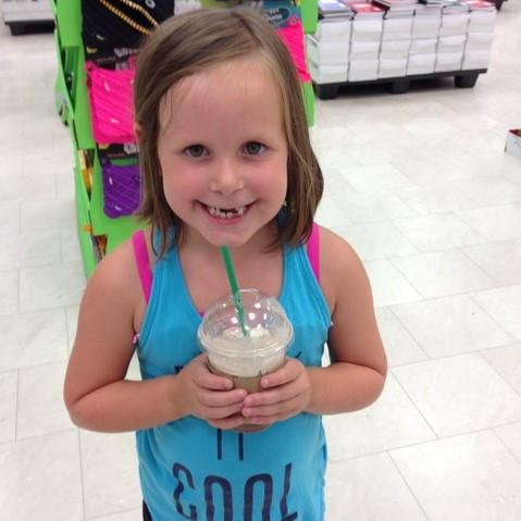 Addison smiling