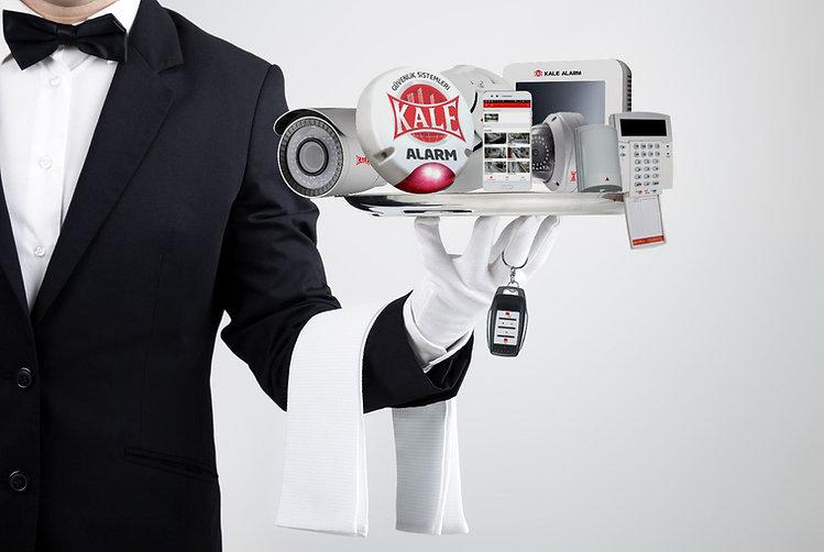güvenlik kamera ve hırsız alarm