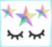 פרינטבלס ריסים וכוכבים להורדה