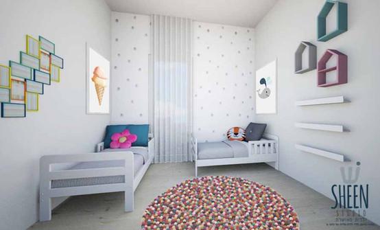השותפים: טיפים לעיצוב חדרי ילדים משותפים