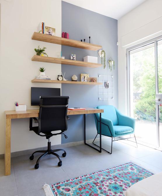 תכנון ועיצוב משרד ביתי / חדר אורחים