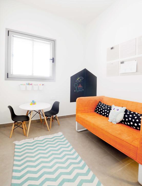 לעבודה ולמלאכה : עיצוב חדר משחקים ועבודה