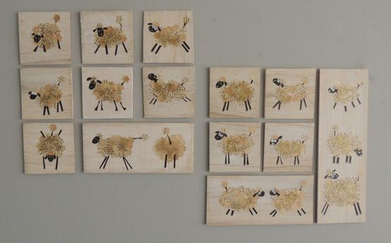הדרכת DIY: קישוט כבשים לקיר
