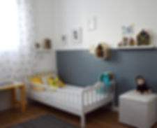 חדר לתינוק בתקציב נמוך