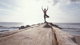 Yoga pelo oceano
