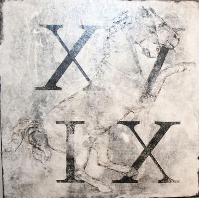 Roman Horse-XVIX