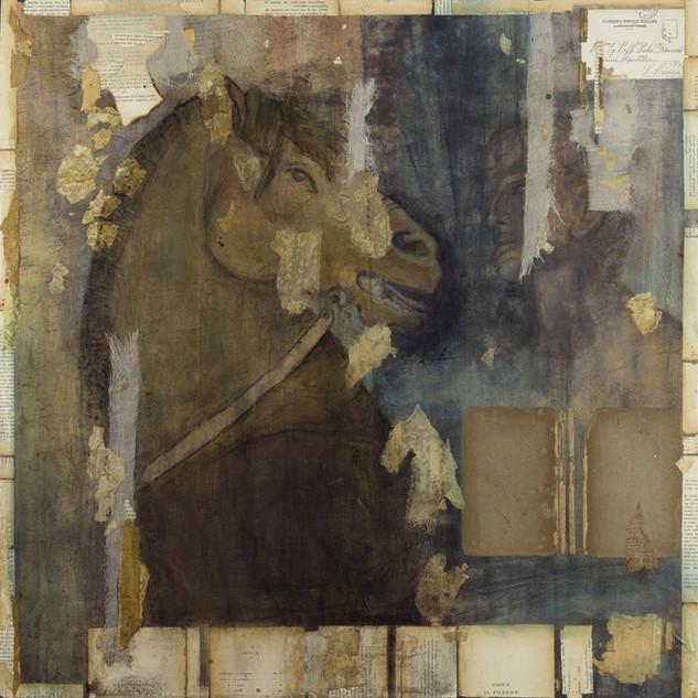 Man and Roman Horse