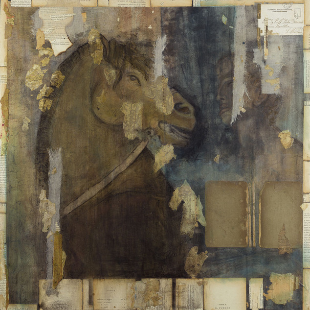 Man and Roman Horse