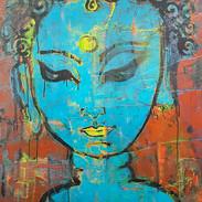 Crying Blue Tara