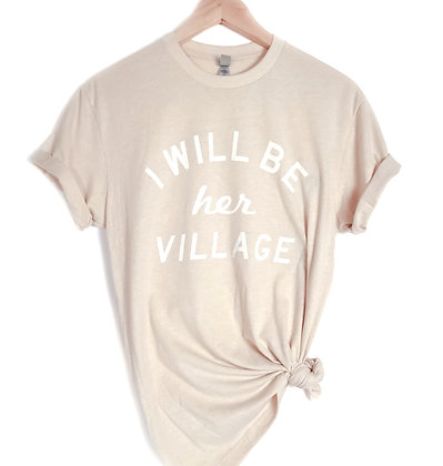 VILLAGE SHIRT - CREAM