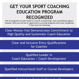 USCCE Program Recognition