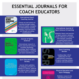 Essential Journals for Coach Educators