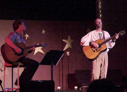 Star Tom concert with Ron Atchison