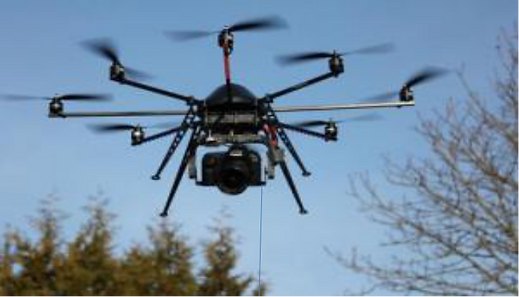 Tethered Drone