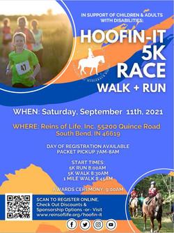 Hoofin-It 5K Walk/Run